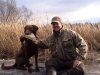 Boone & Me with a Black Duck