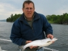 Chris with Lake Champlain Salmon
