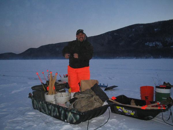 Ice fishing sacred for Ice fishing show
