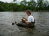 Ben's Unique Fishing Technique
