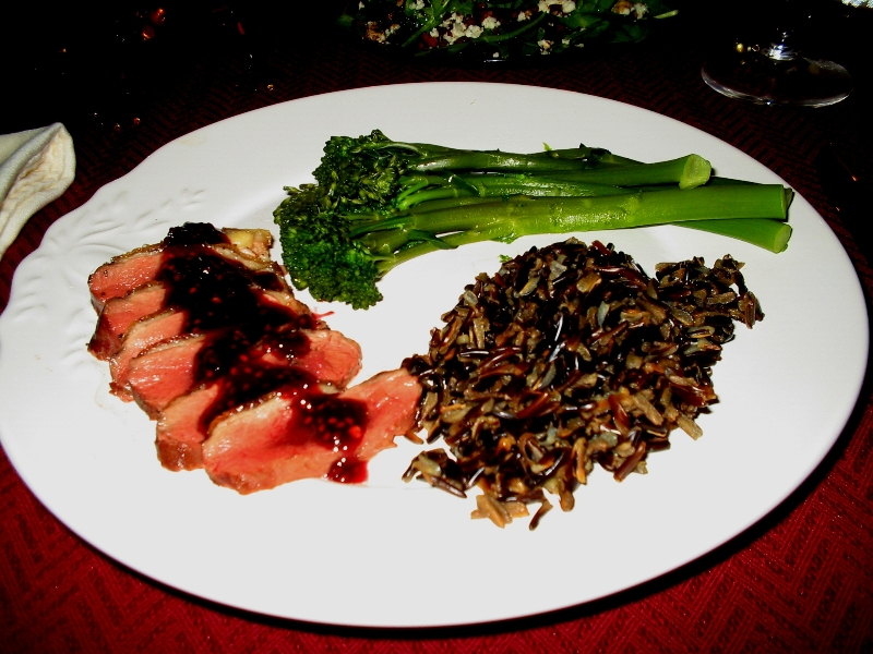 Blackberry Chili Pepper Duck with Wild Rice | Sacred ...